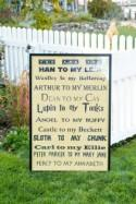 A fandom welcome sign that steals our geeky hearts