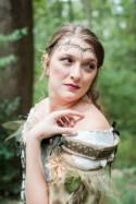 High fantasy meets a handmade gown at this treehouse camp wedding