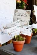Avez-vous des idées pour créer un plan de table champêtre ? - Mariage.com