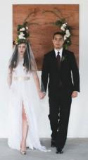 Bohemian Wedding Inspiration Meets Industrial Glam - Belle The Magazine