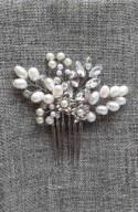 Bridal Jewelry, freshwater pearls,Wedding hair accessories,bridal hair accessories,Crystal headpiece