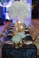 Glamorous Great Gatsby Wedding Inspiration - Belle The Magazine