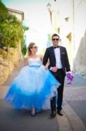 Flash Mob Wedding in the South of France