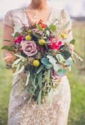 Rustic Glam Vineyard Wedding Inspiration - Belle The Magazine