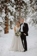 An Elegant Woodland Wedding In Lake Louise