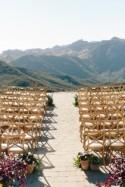 Malibu Wedding In the Clouds Photographed by Annie McElwain