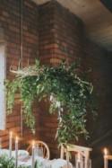 Minimalist Wedding Shoot With Lots Of Greenery - Weddingomania