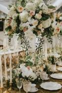 Catherine and Adam's Elegant Backyard wedding