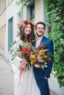 A Colourful & Fun Tropical Inspired Wedding Styled Shoot