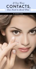 Makeup Tips for Contact-Lens Wearers