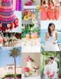 Bright St Tropez Wedding Inspiration Board - French Wedding Style