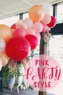 Sweet & Pink Bridal Shower Styling Inspiration