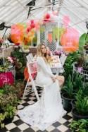 Modern Neon Wedding Ideas With One Fine Day - Polka Dot Bride