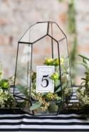 50 Glam Geometric & Terrarium Wedding Ideas