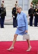El estilo de Brigitte Macron, ¿cómo viste la primera dama de Francia?