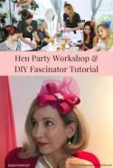 How To Make A Fabulous DIY Fascinator By Glam Hatters