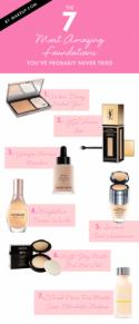 The 7 Most Amazing Foundations You've Probably Never Tried.Makeup.com