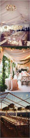 Trending-20 Tented Wedding Reception Ideas You'll Love