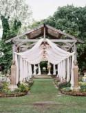 Bohemian Texas Garden Wedding