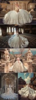 37 Jaw-Droppingly Beautiful Gowns For A Ballroom Wedding