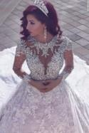 10 SHEER WEDDING DRESSES