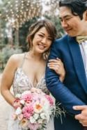 Stephie and Aki's Carnival-themed wedding