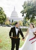 Classic Americana Wedding at the DAR Headquarters