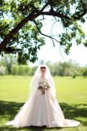 An Elegant Blush And Ivory Wedding In Manitoba