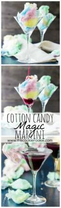 Magic Cotton Candy Martini (Plus Kid Friendly Version)