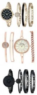 Anne Klein Watch And Bracelet Set Beautiful, High End Look At Great Price