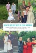 How To Include Your Children In Your Central Park Wedding