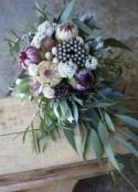 Protea & Native Wedding Bouquets