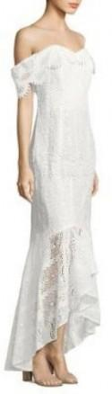 Shoshanna Lace Vanowen High-Low Dress