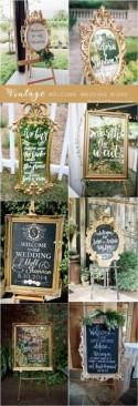 20 Vintage Welcome Wedding Sign Ideas