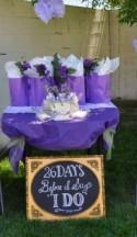Purple And Lavender Bridal Shower
