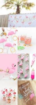 """Let's Flamingle"" Flamingo Bridal Shower Inspiration"
