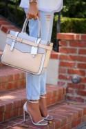 Elsa Patent Ankle Strap Heels - Aqua Mint