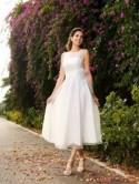 Short Wedding Dresses 2018 UK, Knee & Tea-Length Bridal Gowns