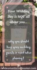 3 Reasons Why Keeping Your Wedding Guests In Mind Is Important