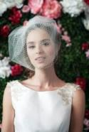 birdcage veil double layer tulle and netting blusher veil tulle & russian netting veil 2 layer veil bridal double birdcage veil ~ LOUISE