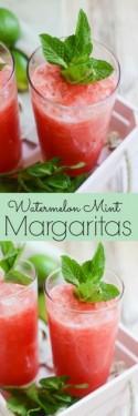 Watermelon Mint Margaritas