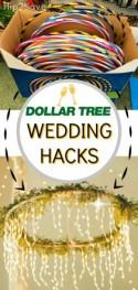 5 BRILLIANT Wedding Day Hacks Using Dollar Tree Items
