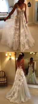 Lace Strapless Wedding Dress Long Train Beautiful Lace Mermaid Wedding Dresses
