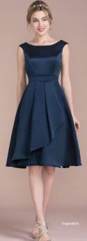 Short Bridesmaid Dress, Knee Length, Prom Dress, Cocktail Dress, Formal Dress