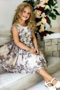 Baby flower girl dress champagne Lace flower girl dress Blush toddler flower girl baby Couture dress Elegant formal baby dress Birthday