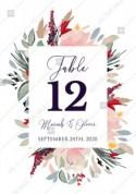 Watercolor wreath garden flower Baby Shower Invitation editable template card PDF 3.5x5 in edit template