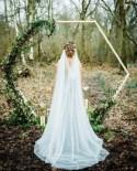 Draped cathedral veil, Draped veil, Drape  veil, Soft Veil, Chapel veil, Bride veil, Wedding veil, Bridal veil, Veil  - 'CLARA'