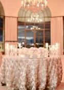 Rosette table cloth, wedding, wedding decor, rosette tablecloth, table runner, table overlay, wedding tablecloth, table cloth, cake table
