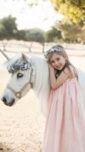 Silver Blue UNICORN Horn for horse, Unicorn horse set, Unicorn Party, Horse Unicorn Horn Set, Flower Crown, Horse Unicorn Costume