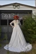 60s Alfred Angelo ft. Edythe Vincent, Lace Wedding Dress